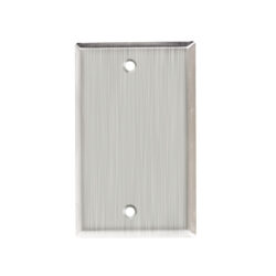 Blank Stainless Steel Faceplate