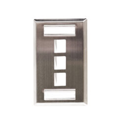 Stainless Steel ID Label Faceplates