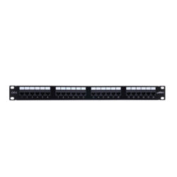 24 port Cat 6 patch panel