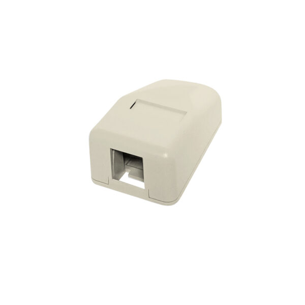 Surface Mount Boxes - 1 Port Ivory