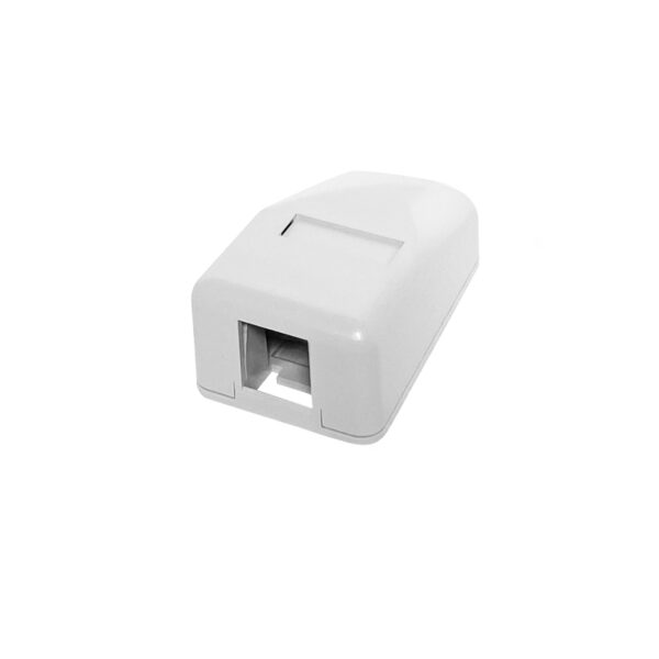 Surface Mount Boxes - 1 Port White